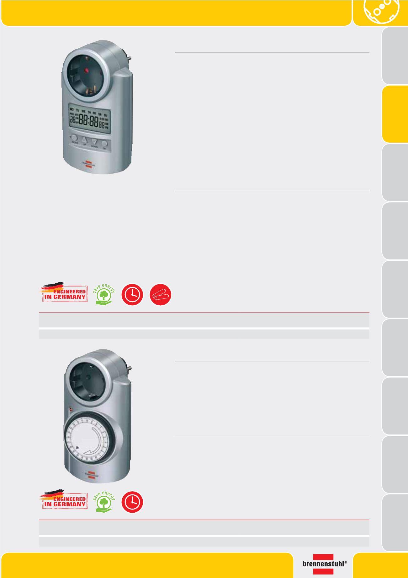 Primera Line Digitale Wochenzeitschaltuhr Countdown Timer 20 Ein//Aus Programme